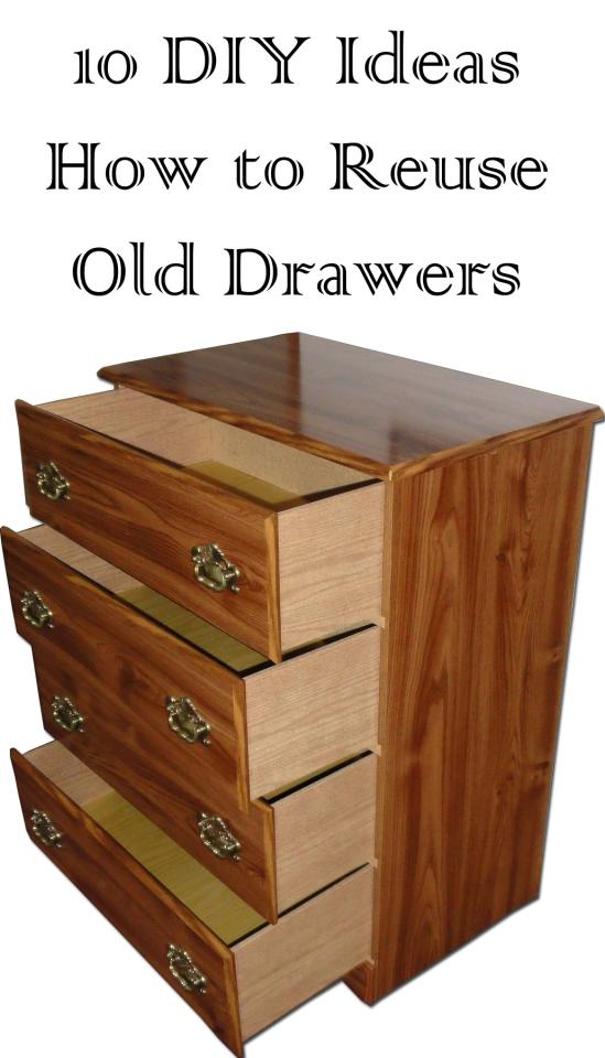 Use your old and vintage drawers to make something interesting for your home.. read more http://bit.ly/1yi5S7U