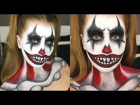 scary clown halloween makeup ideasgeorgette 💕  musely