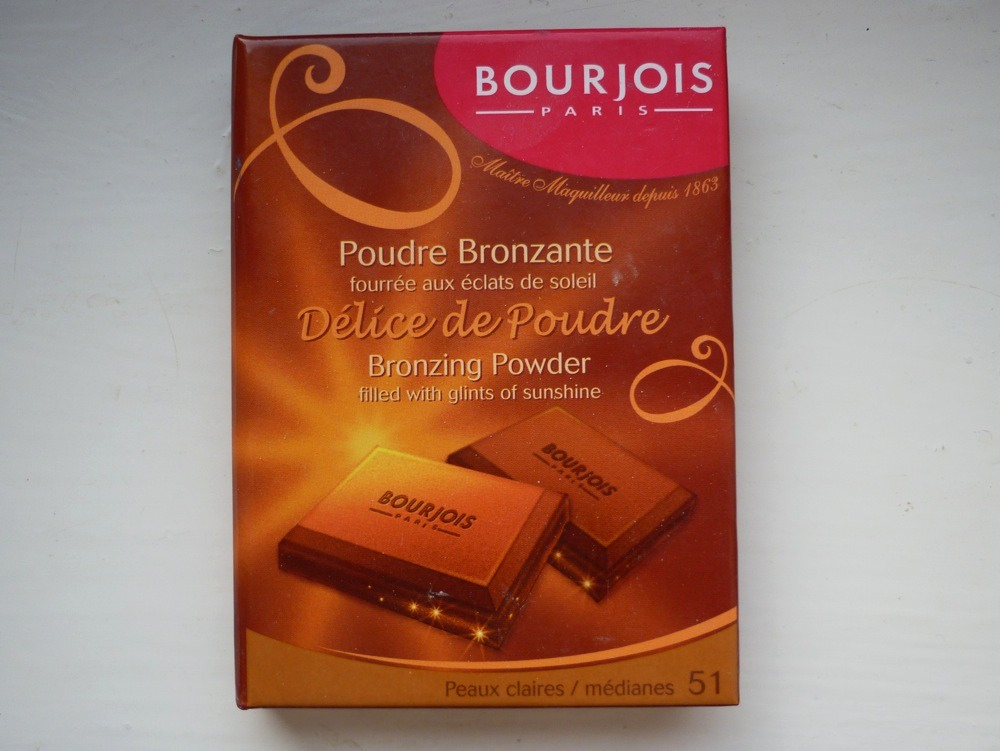 This is an amazing bronzer. Not only does it look like chocolate it also SMELLS like chocolate too. This bronzer isn't orange and it lasts a really long time. Sold at boots for  7.99