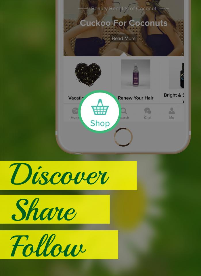 Discover natural & organic beauty products on the Shop tab, share & follow your favorite Muse stores, and let us know what you think by providing your feedback.