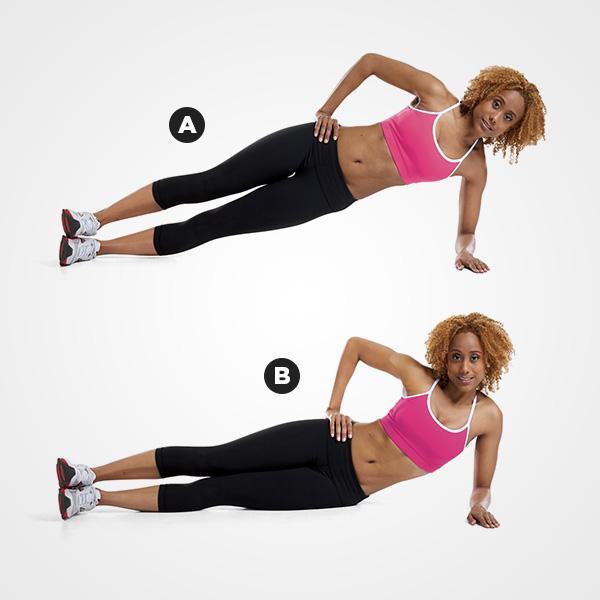MOVE 2Forearm Side Plank