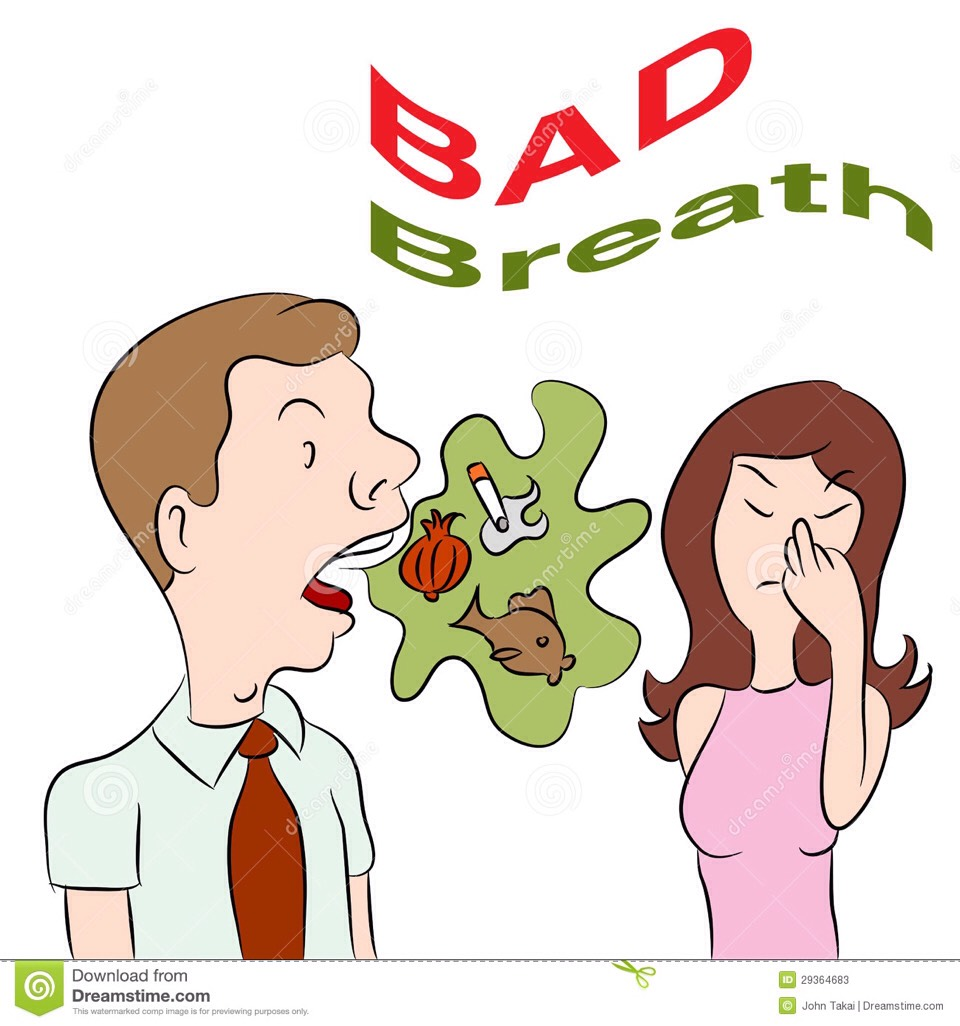 BAD BREATH: People of South America first thing in the morning gargle with one teaspoon of honey and cinnamon powder mixed in hot water, so their breath stays fresh throughout the day.