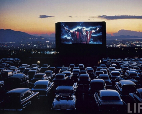Go to a drive in movie theater!