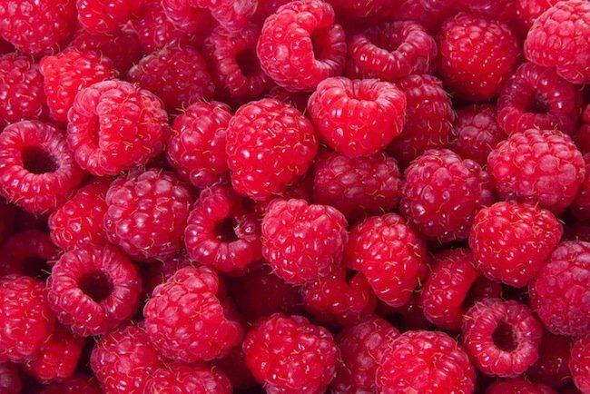 10. Raspberries: So apples are not your favorite? Grab some raspberries instead. Eat them plain or add them to a smoothie or oatmeal recipe from above! They're a great source of fiber and vitamin C; plus they help lower cholesterol. Yes, please!