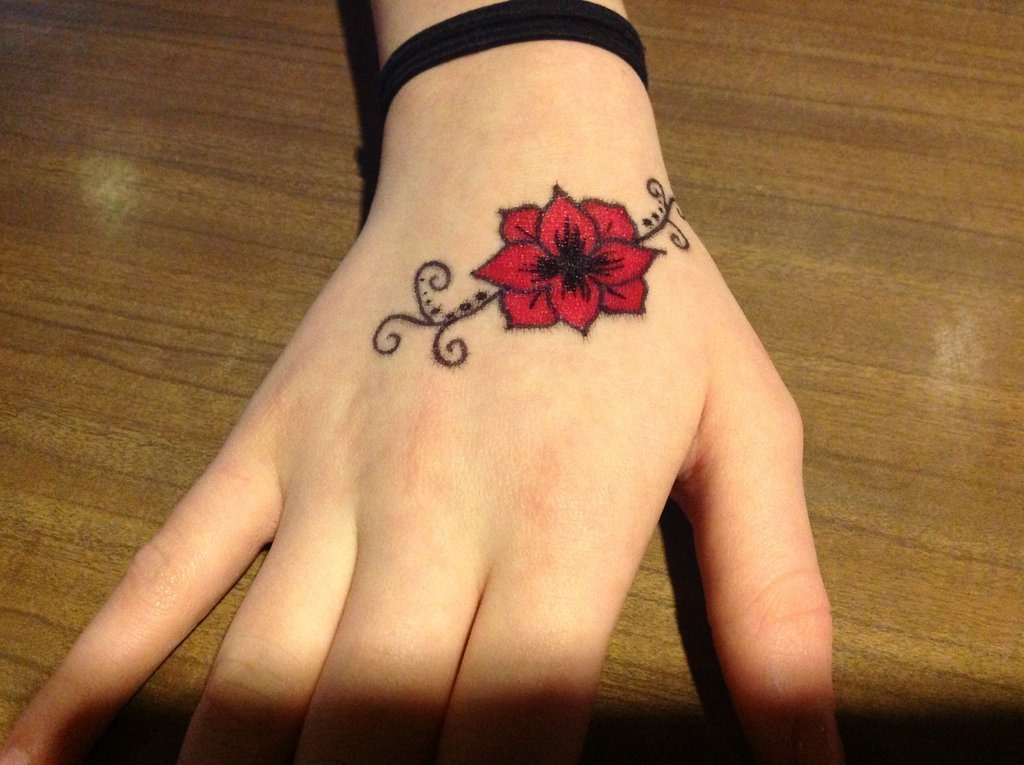 There you go,your sharpie temporary tattoo