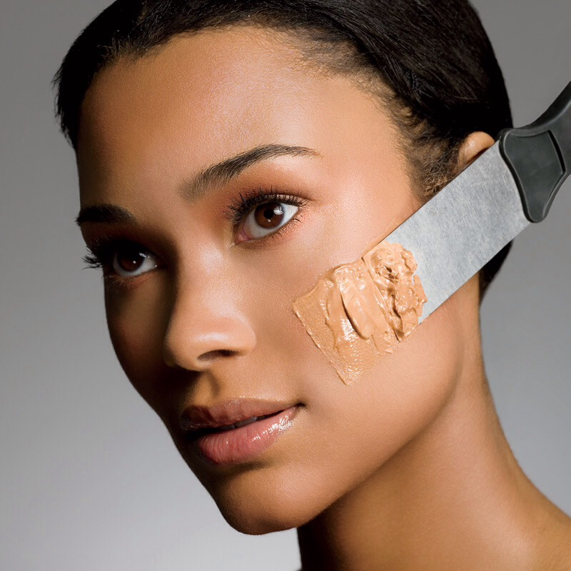 If you have various foundations laying around that are either too light or too dark for your skin tone, remember you can still use them to nicely contour your face!