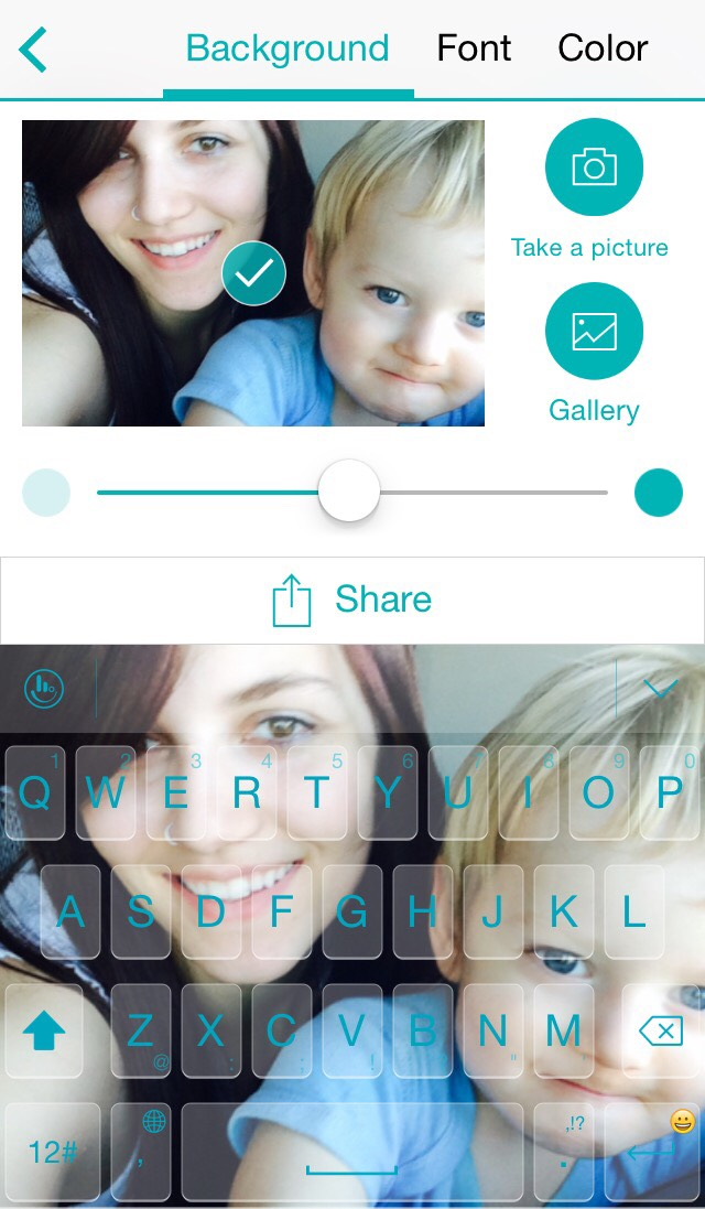 You can custom to whatever theme you like!  Even use your own personal pictures!  I used myself and my son!