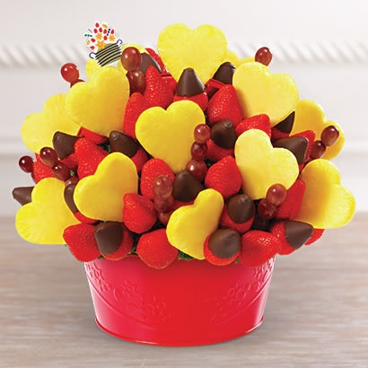 11. Flowers are fine, but an Edible Arrangement is even better.