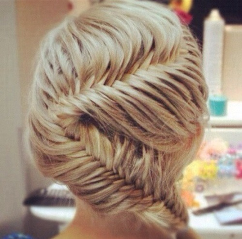 French zig zag fishtail