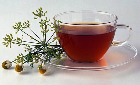 Try drinking chamomile tea in the evenings