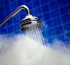 Always take warm showers