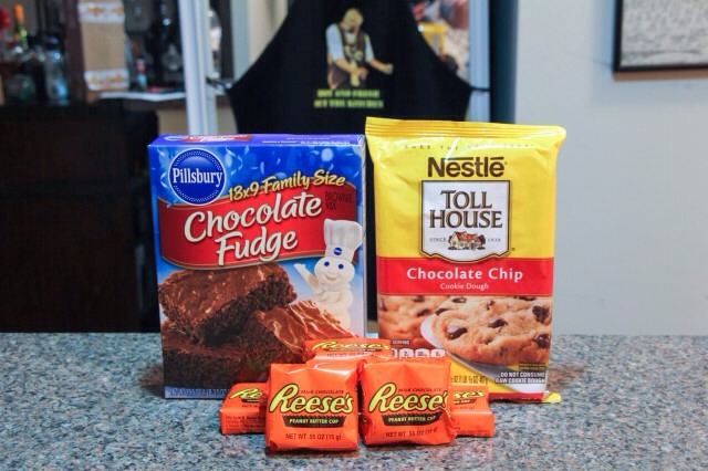 Ingredients! Just add what your brownie and cookie dough mix call for!