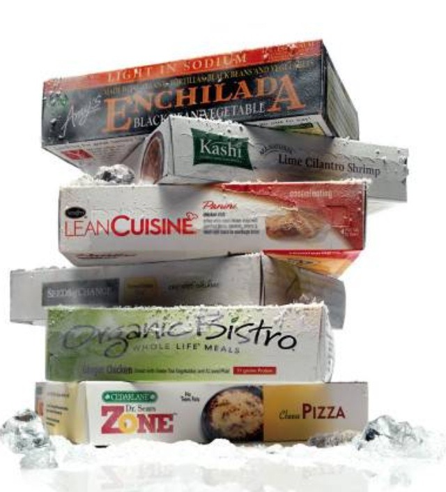 3. Frozen Diet Meals: Sure Lean Cuisine and Weight Watcher frozen entrees are fairly low in calories and convenient, but they're also highly processed and high in sodium-not to mention the amount of preservatives in them!