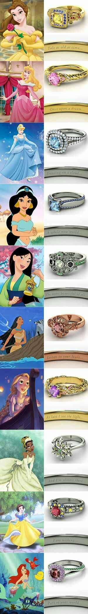 Show your princess just how much you love her by proposing with a piece of her favorite Disney Princess!