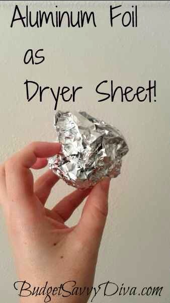 Just make a ball out of foil and toss it in the dryer! It really works!