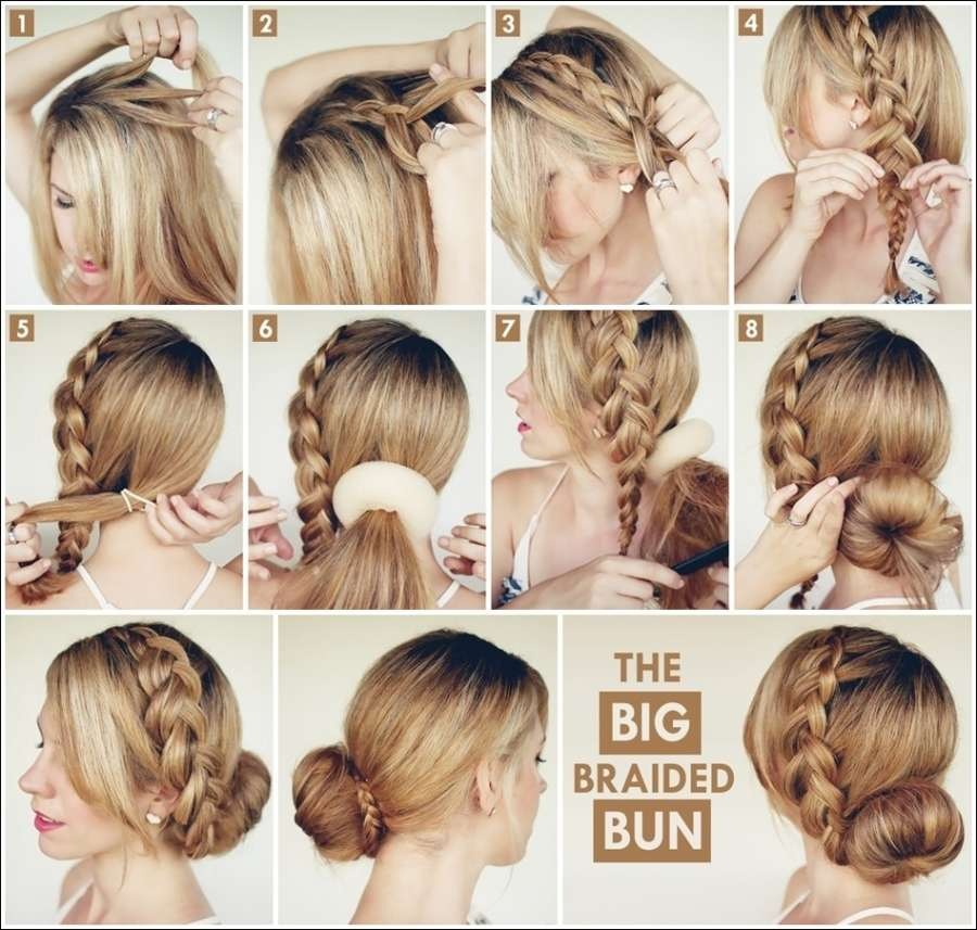 """Try These Super Quick Hairstyles For Busy Days """" 👩💇💆💁"""