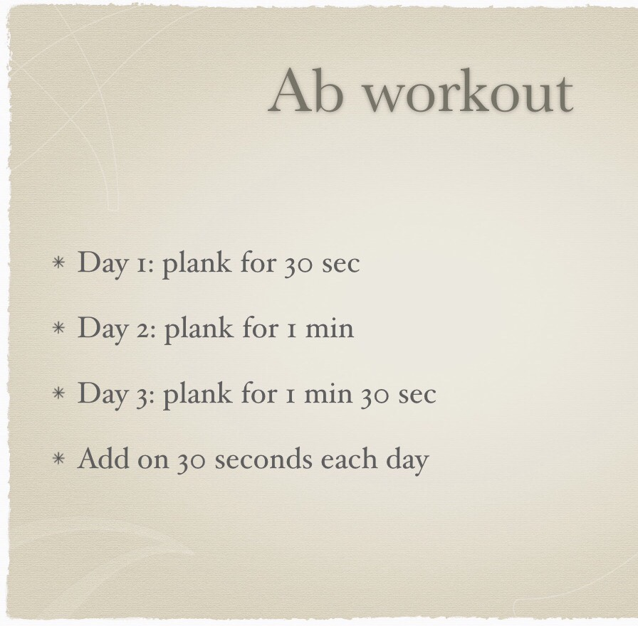 Use this workout