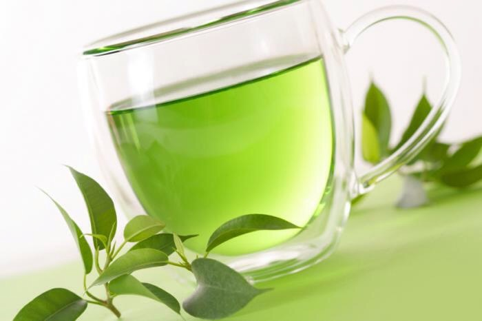 Drink at least 3-4 cups of green tea a day and follow this routine and results will come
