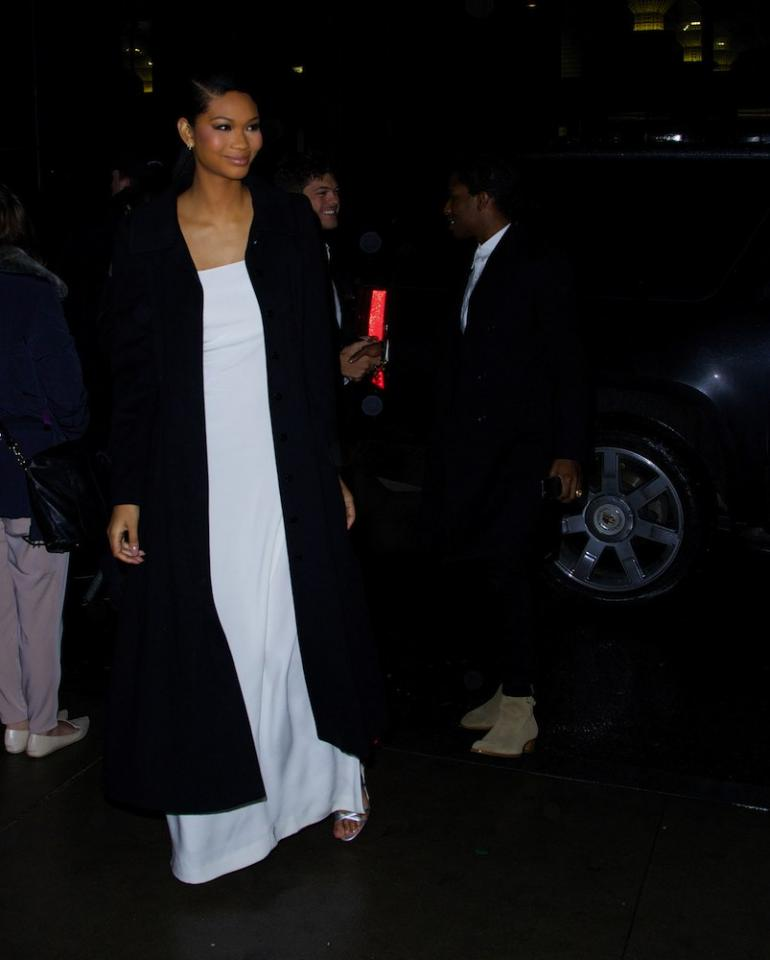 Wear Your Outfit, Don't Let It Wear You  Less may really be more as model Chanel Iman demonstrates. Clean lines and neutrals allow you to shine, not the outfit. After all, it's supposed to make you look good, not serve as a distraction.