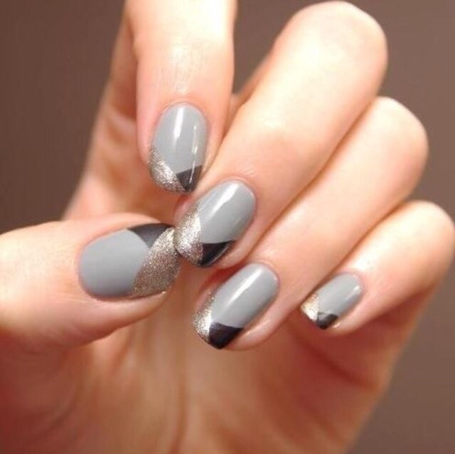 7. GRAY IS THE BEST COLOR FOR ANY MANICURE