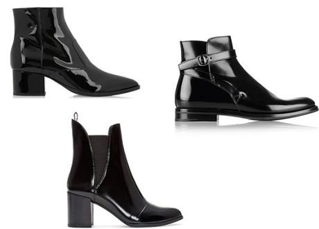 "For a formal ""date night"" look, go with a glossy, polished-looking boot"