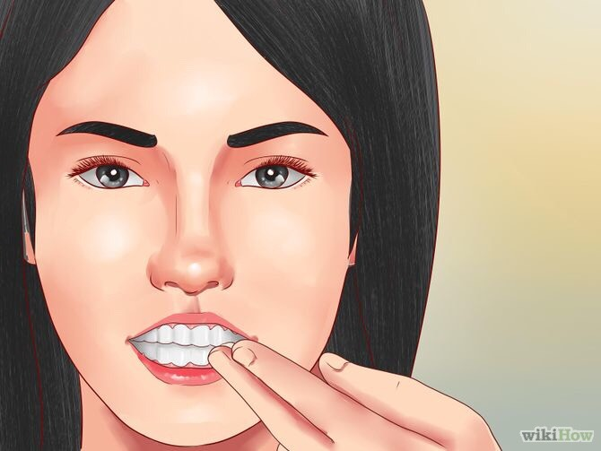 Put some on ur teeth and rub all around your teeth you will get smooth teeth