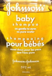 Then fill a container with baby soap (I prefer Johnson & Johnson because it's not as Harsh!) Then before you dip the brushes in the soap, make sure the brushes are damp not wet.