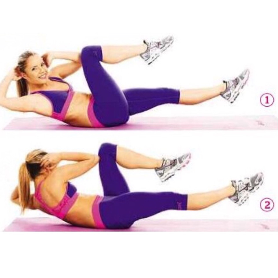 60sec Bicycle crunches