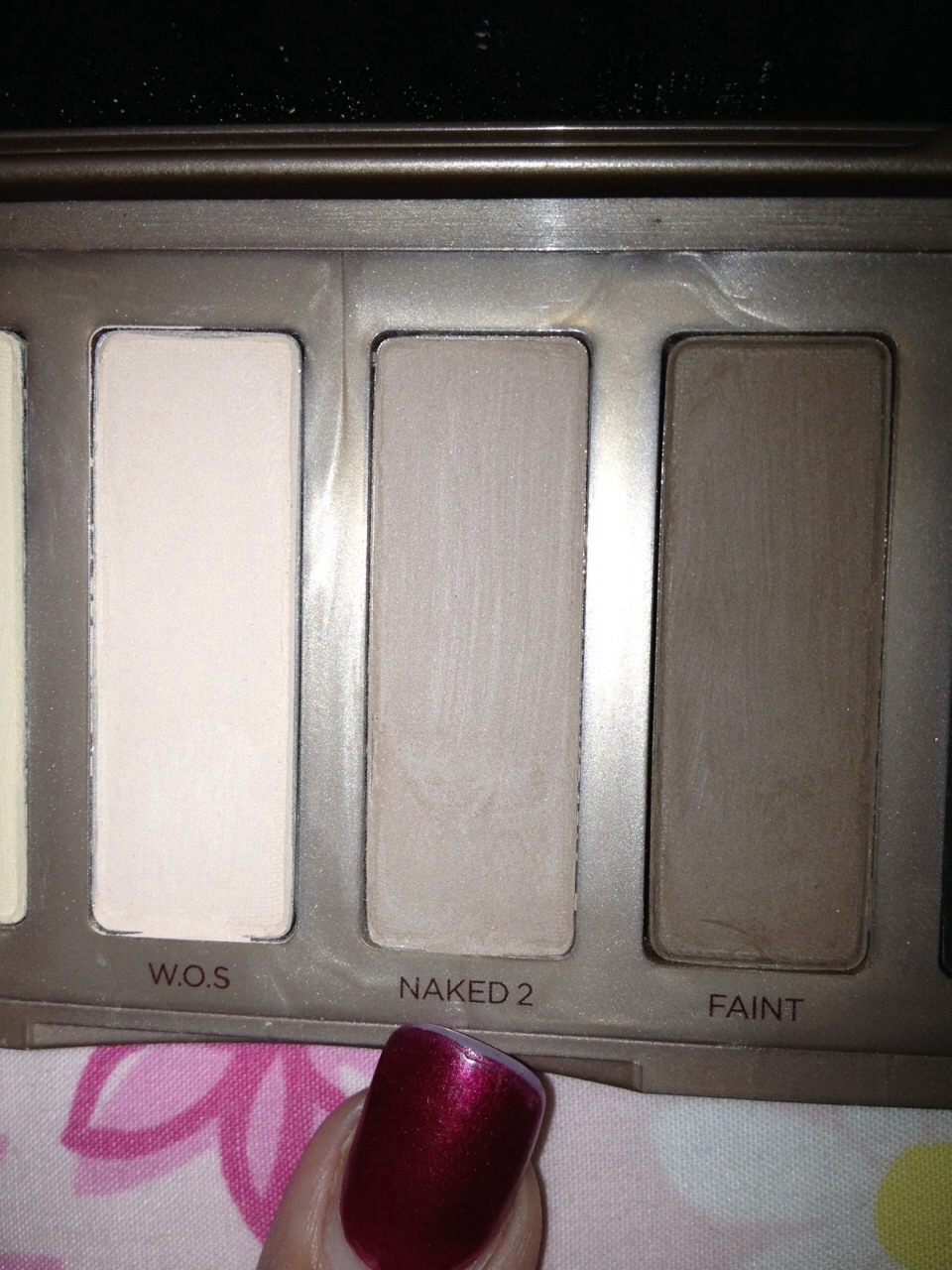 Use naked 2 for our crease color.