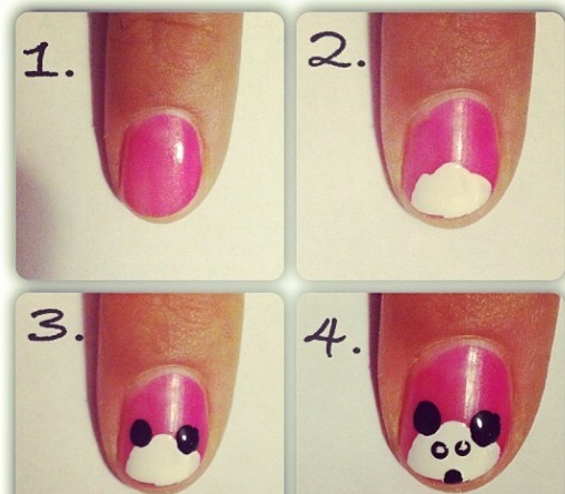 Choose what ever colors you want!!!! 4 easy steps. Don't forget the top coat.