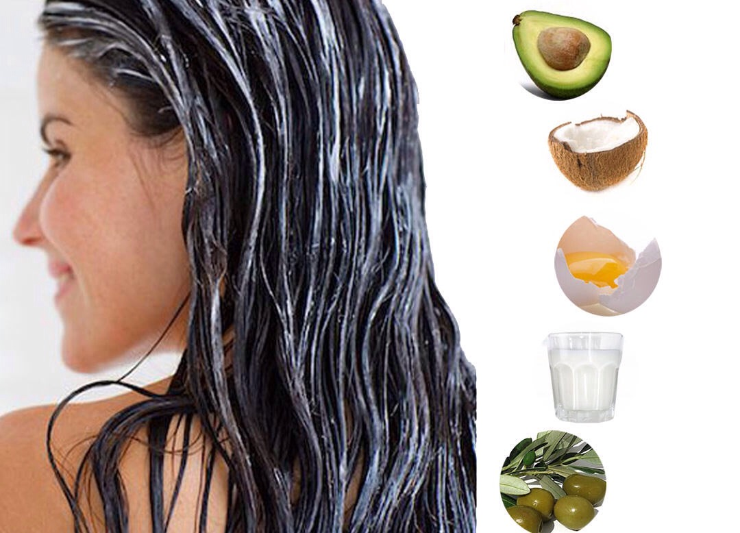 You can even make a home make hair mask with any of these. Hair masks do not make your hair grow it only repairs and makes hair stronger and shinier