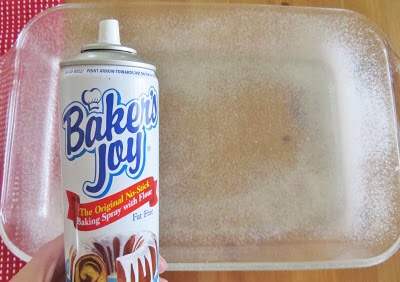 Directions: Preheat oven to 350F degrees  Spray 9x13 baking dish with nonstick cooking spray.
