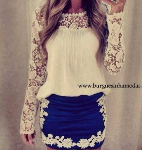 I wish there were clothing like this where I live. lace lace lace !!!! 💜