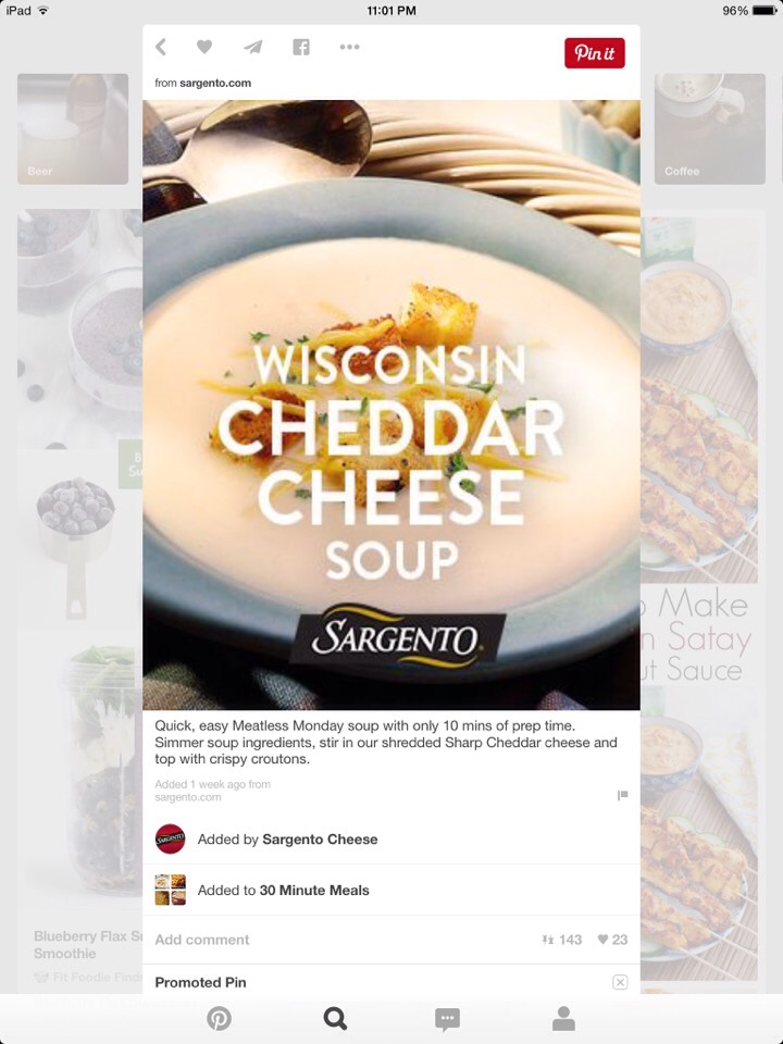 http://www.sargento.com/recipes/soups-salads/wisconsin-cheddar-cheese-soup?pp=0