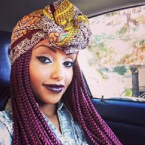 Just rock it with a simple headscarf!
