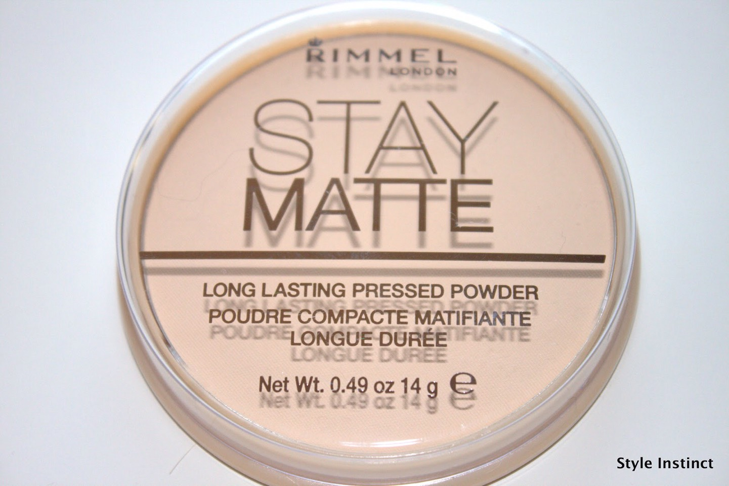 Finally...set the whole look with a powder, preferably matte which locks the foundation in and also keeps it shine free.