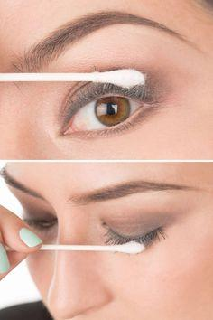 22. If you want longer lashes without extensions, add baby powder to your lash routine. Simply use a cotton swab to dab on baby powder in between mascara applications and you'll have longer, thicker lashes—easy.