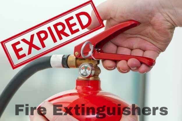 Most fire extinguishers don't expire for five to 15 years, depending on the type, but things like cracks in the hose and the pressure can affect how well they work. Solution: Check the pressure in the gauge often, and make sure to recharge (aka refill) after any use.