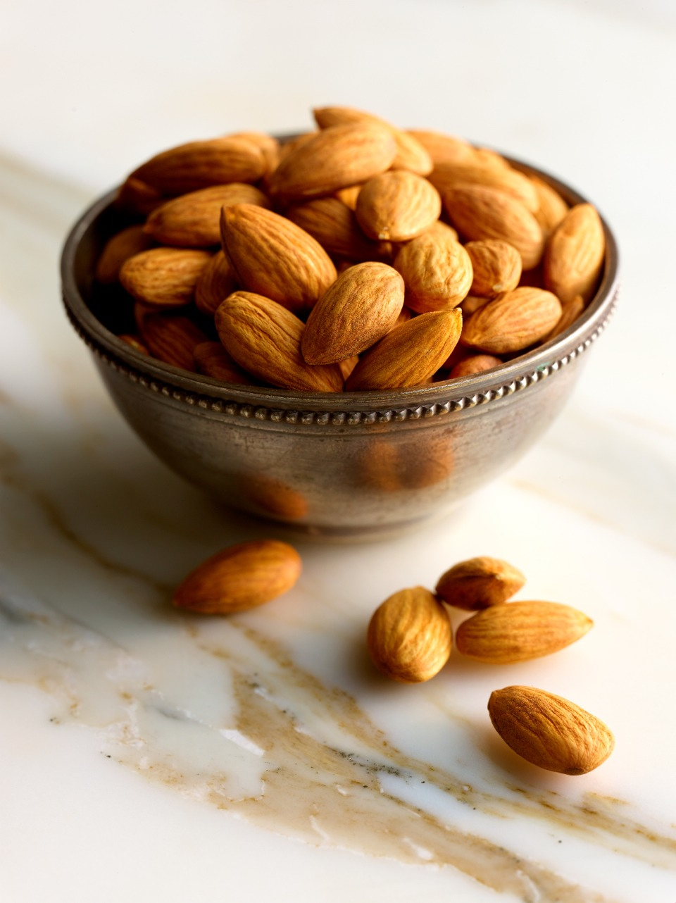 Almonds:Topping my list of feisty foods, almonds have long been purported to increase passion, act as a sexual stimulant, and aid with fertility. Almonds are nutrient-dense and rich in several trace minerals that are important for for sexual health and reproduction
