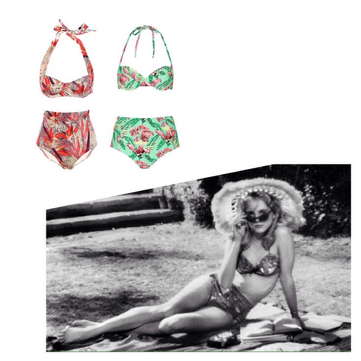 Have you ever watched an old movie and thought what a great swimsuit? Me too! Here are some ideas.