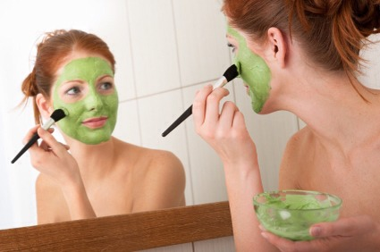 *CAUTION – with ANY scrubs or masks, test it in a small area first to make sure you are not sensitive to it. It your skin turns red, rinse the area with mild soap with luke warm water.*