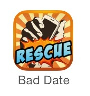 Bad date rescue is a free app where you can schedule fake-call scenarios that give you a reason to get out of awkward situations! Even without a date, this app is hilarious. And helps A LOT. completely free by the way!