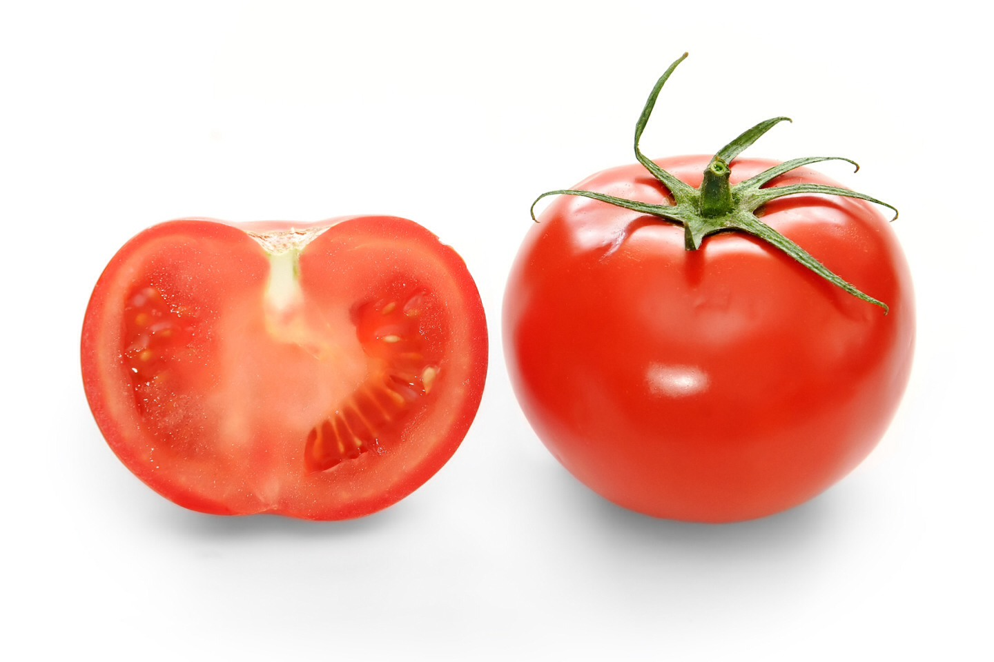 Tomatoes and the pulp have vitamin A,K,C and lycopene found in acne medications. The acidity dry up acne.
