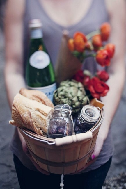 You can be creative with the look and the taste of your picnic