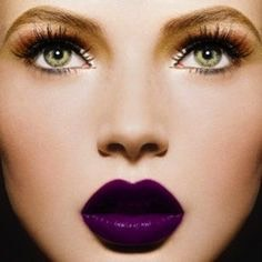 Experiment with color:Ladies with dark hair and pale skin, listen up! Having strong coloring and a natural contrast gives you the option to play around more with color, so start experimenting. The deeper, the better!