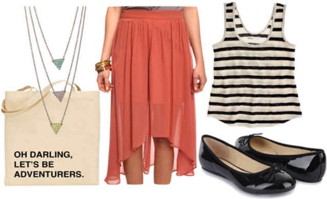 High-low skirt: Day