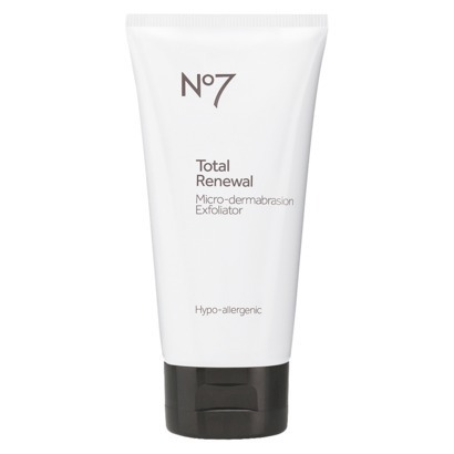 I also exfoliate twice a week with n7 total renewal micro-dermabrasion exfoliator (found only at Target). Exfoliating is extremely important to get all that dead skin build up off. It prevents clogging of the pores. This is my fav exfoliant! I can feel it working & like always leaves my skin glowing