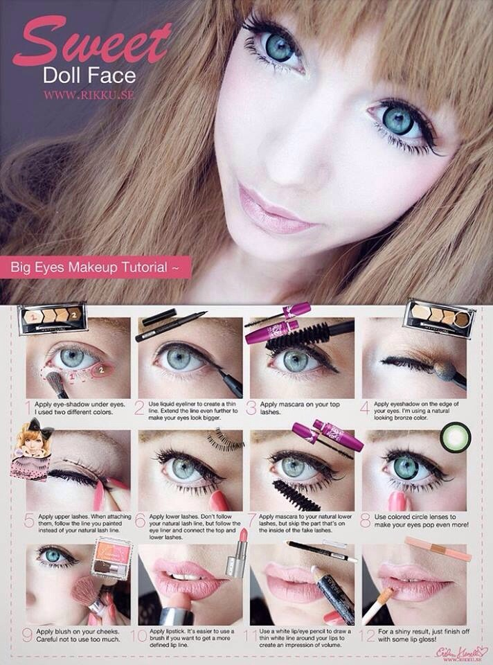 Big Eyes Make Up Tutorial By Prixy Gal Musely