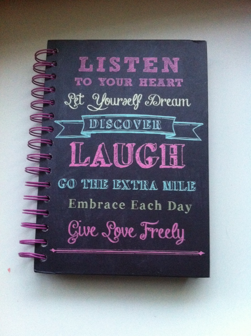 Hey guys! Miranda here! That is my diary and on every journal entry I make...