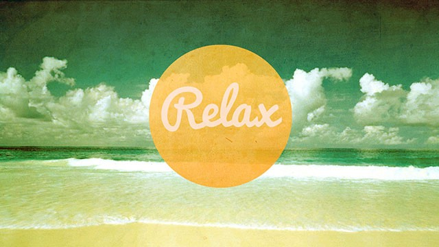 Now relax for at least 20 minutes and let the day drift away...